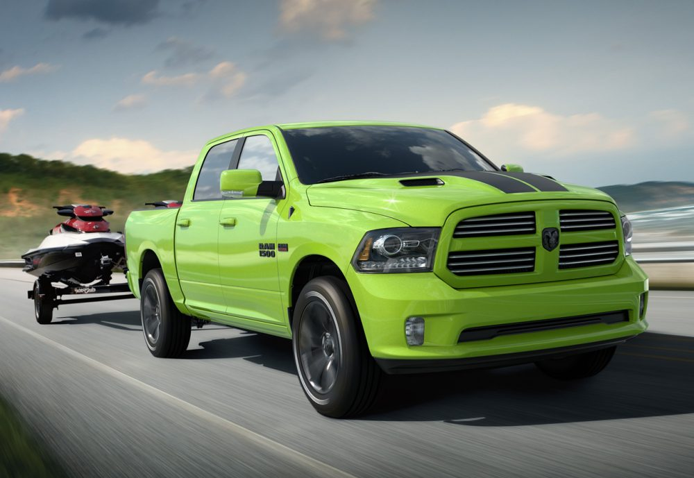 2017 Ram 1500 Sport Sublime Green